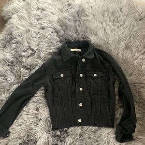 Cropped Jean Jacket from Pacsun Sz XS